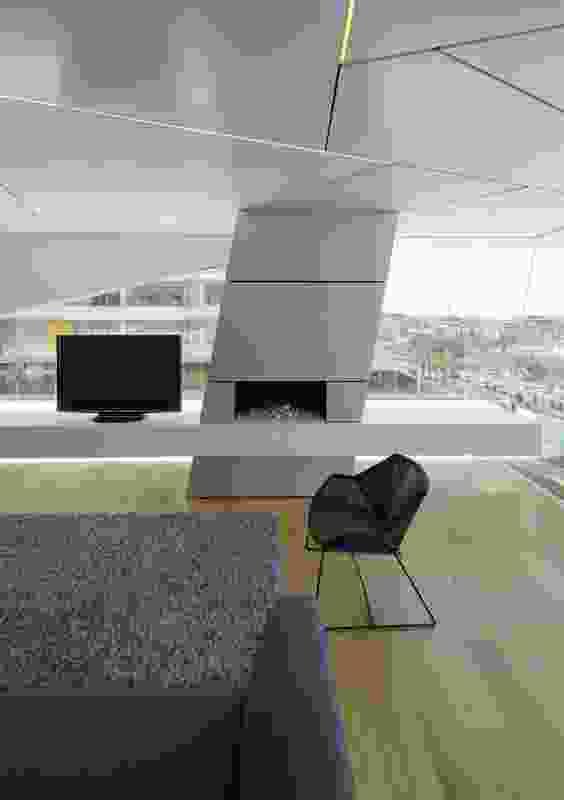 Bondi Penthouse by Brian Meyerson Architects.