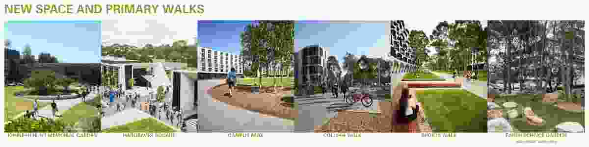 Monash University Clayton Campus Masterplan (Clayton, Victoria) by MGS Architects and Masterplanners, Monash University and Monash University Design Consultancy.