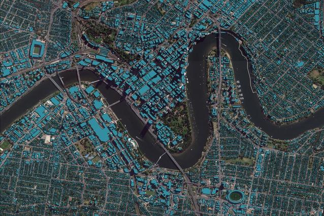 Geoscape data of Brisbane.