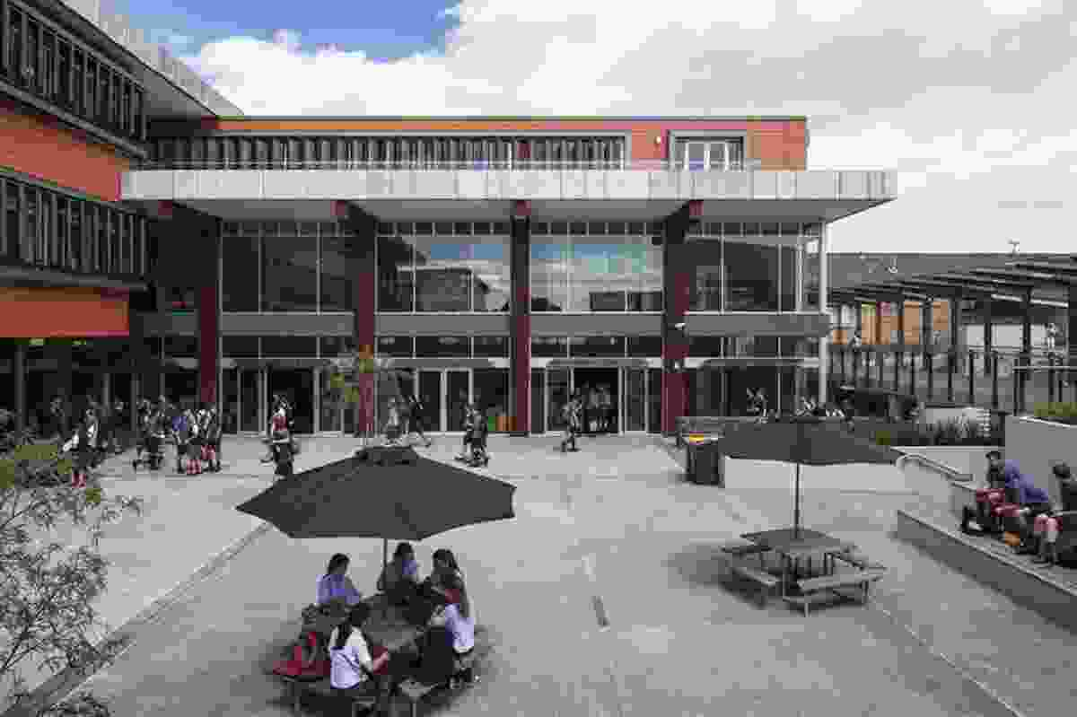 Education category finalist: The MacFarlan Centre, Saint Kentigern College, Auckland, by RTA Studio.