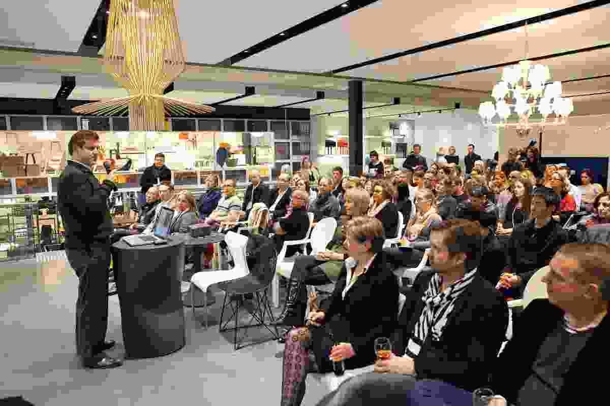 Speakers Michael McCann from Dreamtime Australia Design on media and awards.