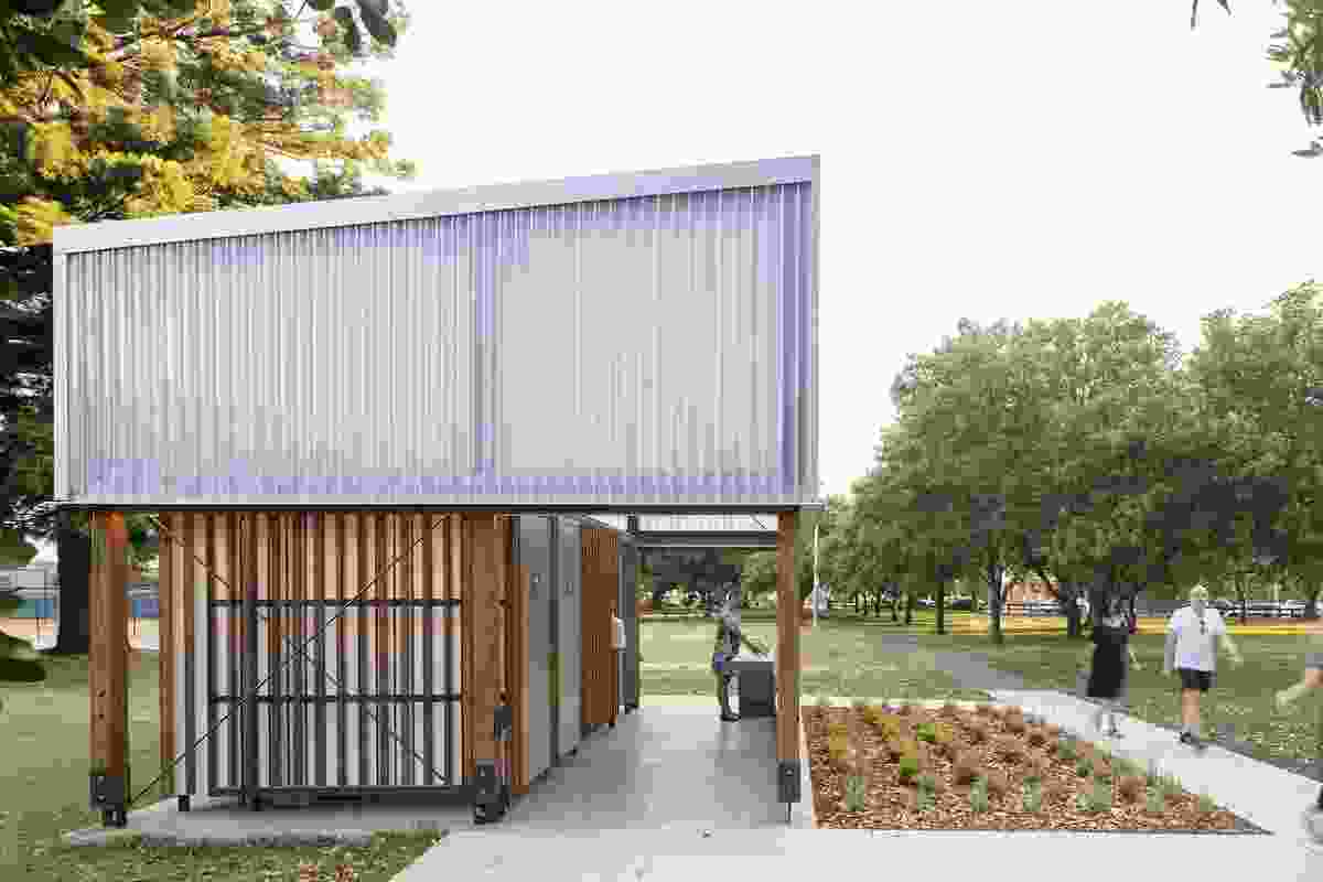 Wicks Park Amenities by Sam Crawford Architects.
