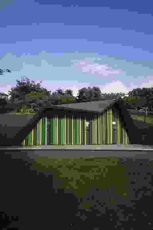 Princes Park Toilets by Terroir Architects.
