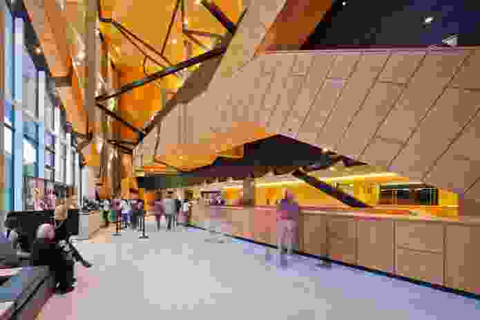 Perth Arena by Cameron Chisholm Nicol and ARM Architecture (joint venture).