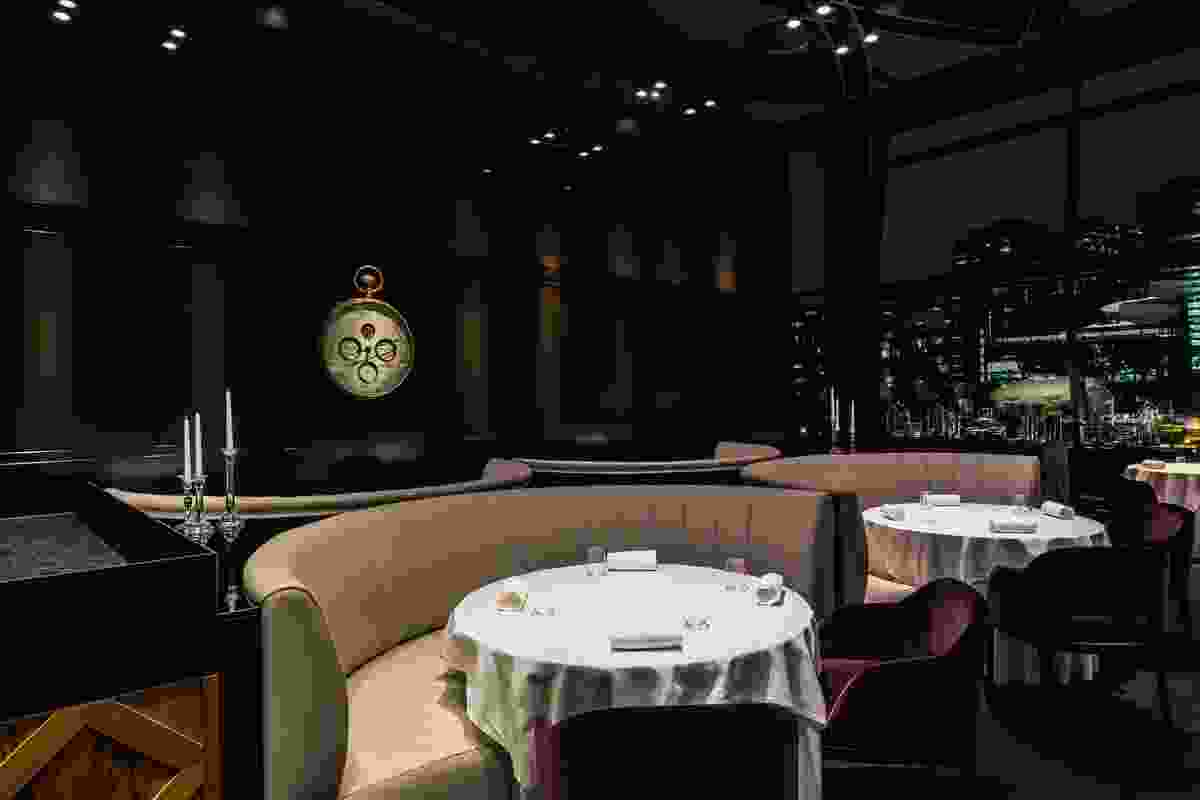 The Fat Duck Melbourne plays on the idea of chiaroscuro – the art of contrasting light and dark.