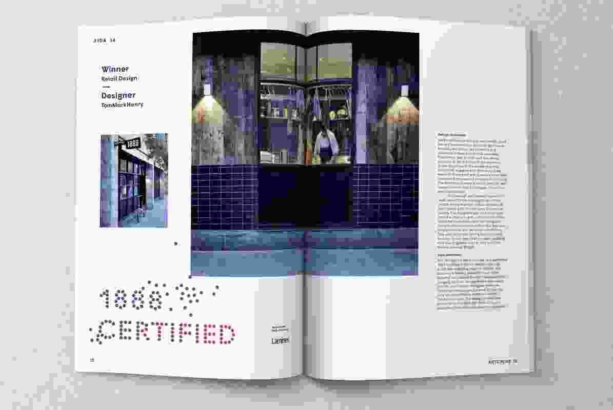 Inside Artichoke issue 55.
