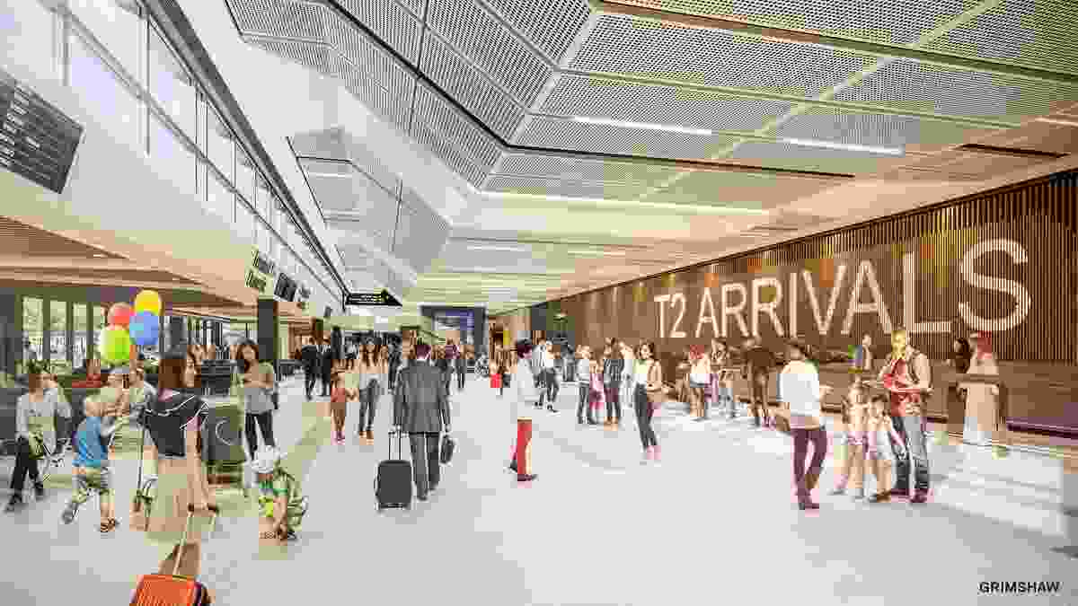 T2 Arrivals Hall by Grimshaw.