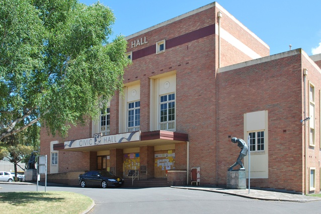 The existing Ballarat Civic Hall will be refurbished by Baumgart Clark Architects.