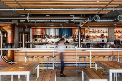 All Hands Brewing House by Maddison Architects.
