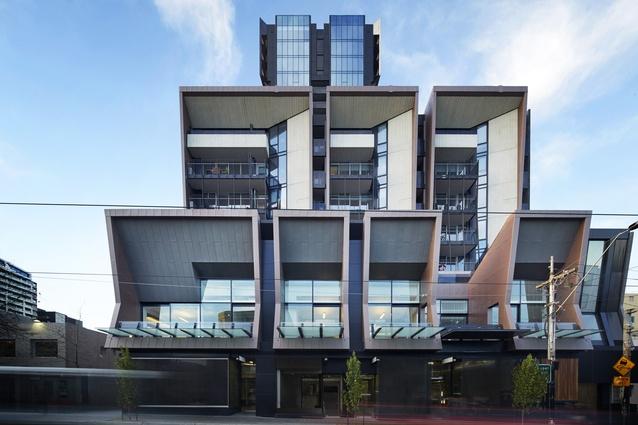 ILK Apartments by Cox Architecture.