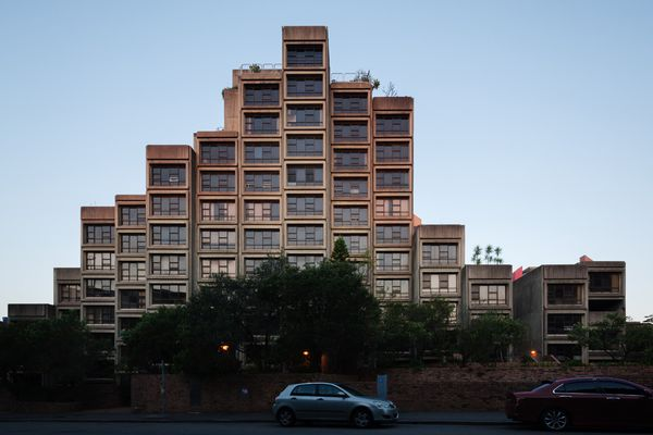 Formerly social housing, the Sirius building designed by Tao Gofers has been sold and will be redeveloped as private apartments.