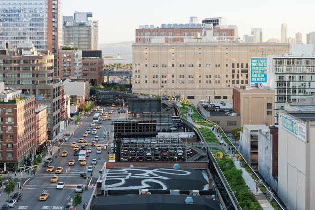 The High Line, by Diller Scofidio and Renfro and Field Operations.