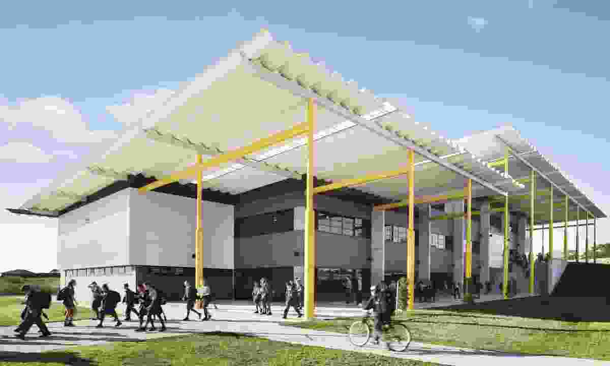 St Bede's Catholic College, Chisholm - Stage 1 by SHAC.