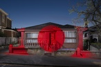 Ian Strange turns condemned suburban house into temporary gallery