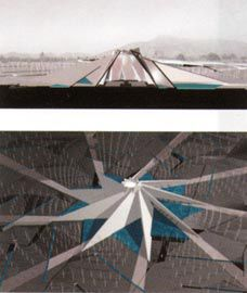 Ashkan Mostaghim and Theodora Alana Kioussis's shortlisted entry for a Baha'i House of Worship in Santiago, Chile.