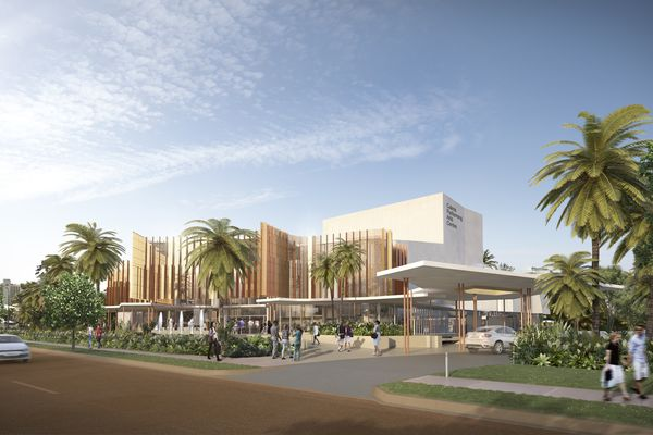 Cairns Performing Arts Centre by Cox Rayner.