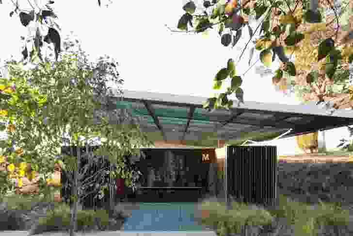 Lizard Log Amenities and Events Pavilion by CHROFI.