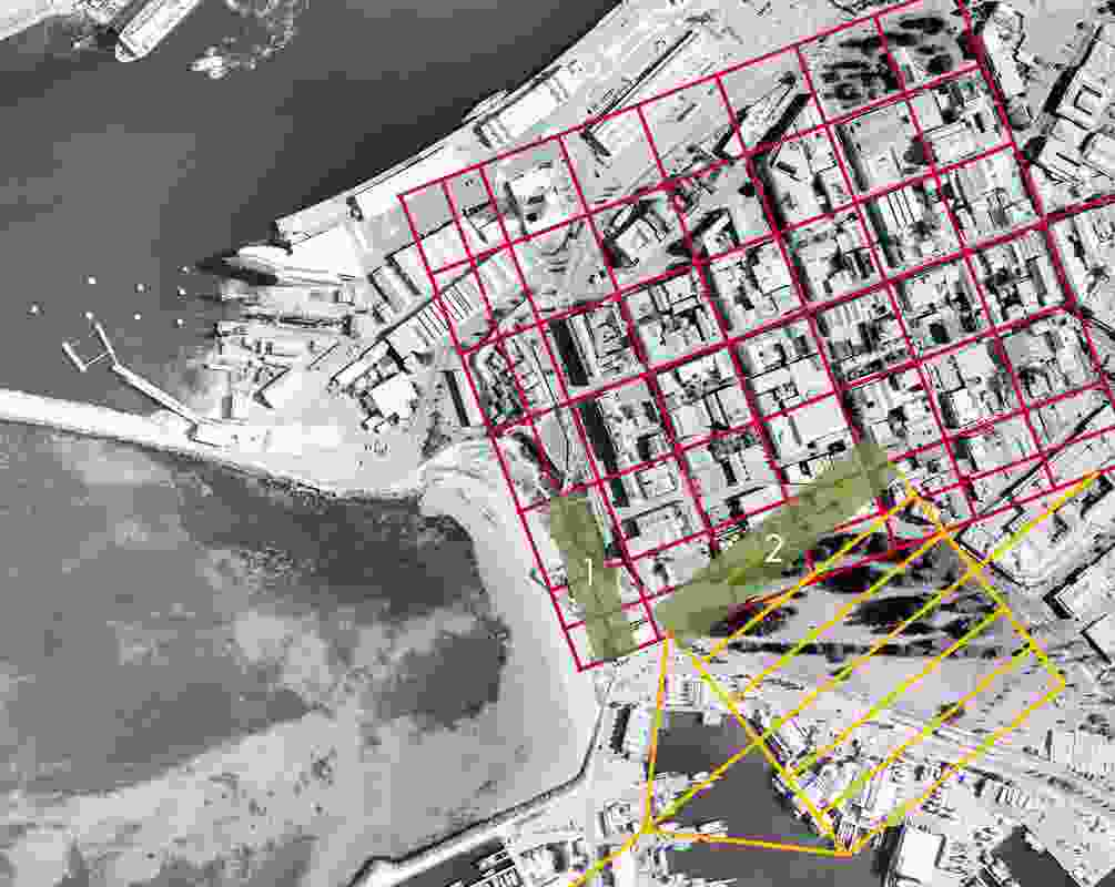 Masterplan by Donaldson + Warn for Old Port Arthur Head Reserve, Fremantle.