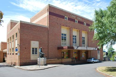 The Ballarat Civic Hall site will be home to a new major Victorian government office precinct to be designed by John Wardle Architects.