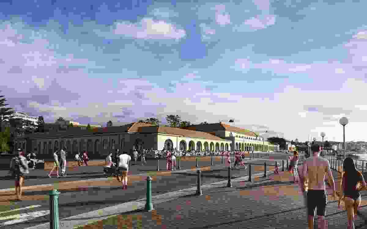 Bondi Pavilion restoration by Tonkin Zulaikha Greer.
