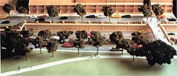 Eastern Distributor, architectural model by Jackson Teece.