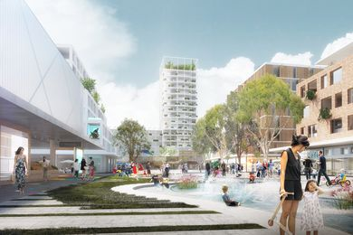 K2K proposal – Waterplay Space, Kensington by JBA Urban Design and Planning, Stewart Hollenstein Architecture and Urban Design, Arcadia Landscape and Natural Systems, The Transport Planning People and Jess Scully.