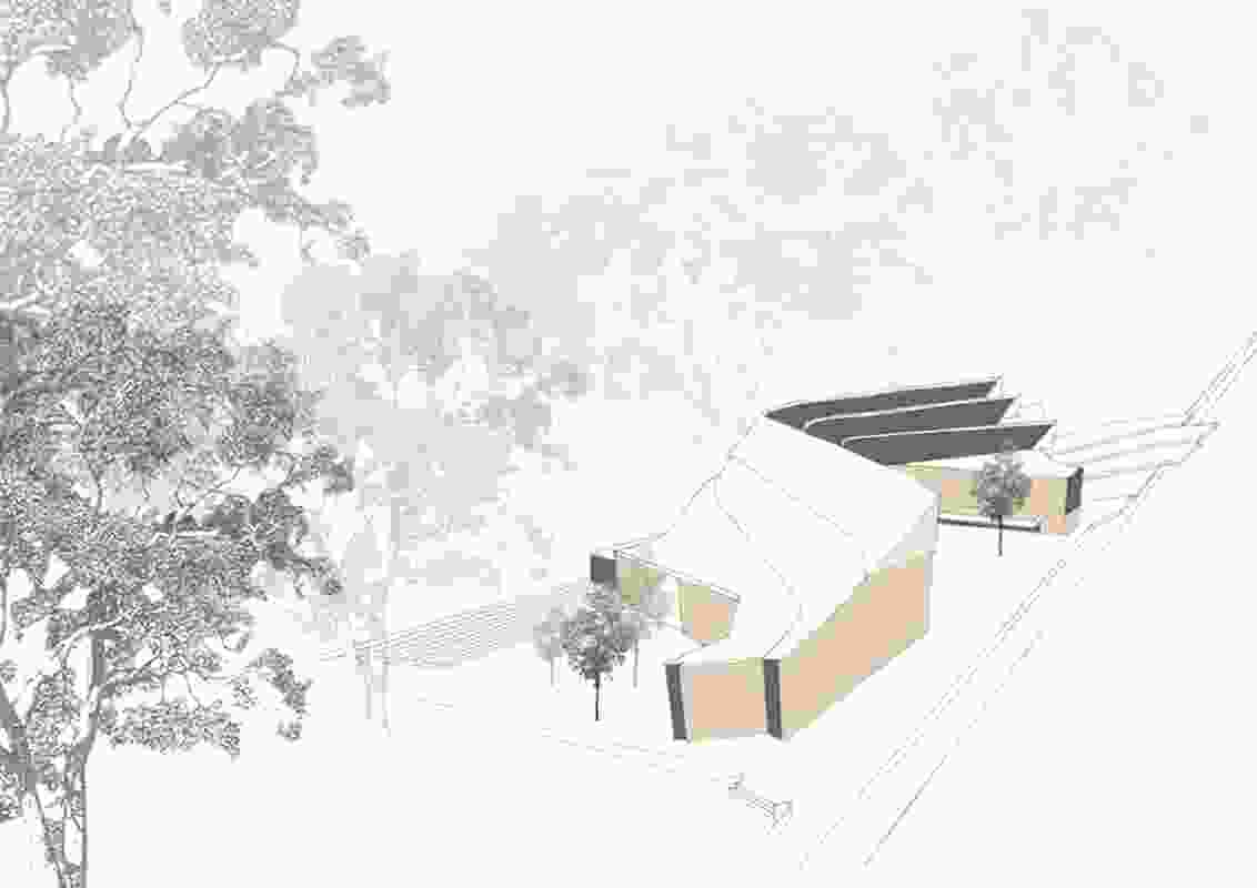 Site-sensitive proposal by Angelo Candalepas.