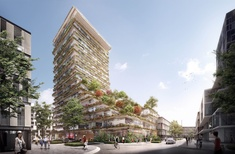 Kengo Kuma, Koichi Takada to design 'vertical urban forest' for Sydney's Waterloo