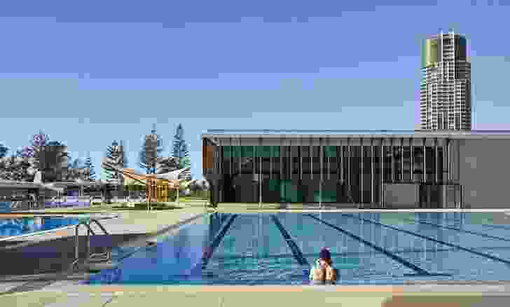 Gold Coast Aquatic Centre by Cox Architecture.
