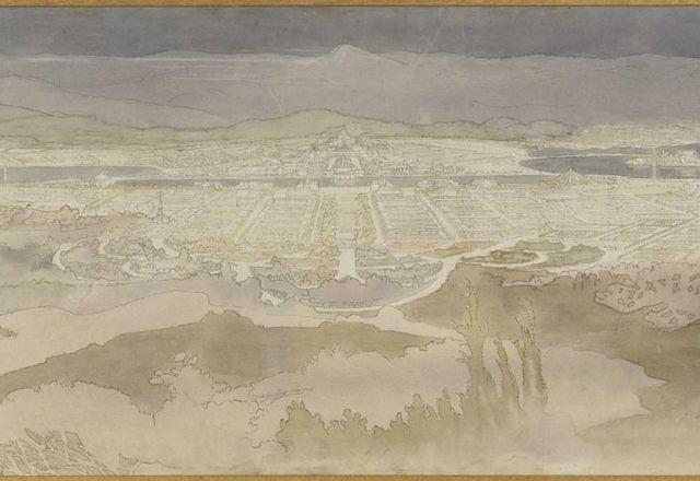 沃尔特·伯利·格里芬和马里恩·马奥尼·格里芬的堪培拉计划。