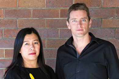 Wei Shun Lee and Kieron Gait, co-directors of Kieron Gait Architects.