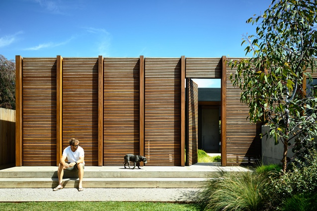 Munro Ocean Beach House by Planned Living Architects.