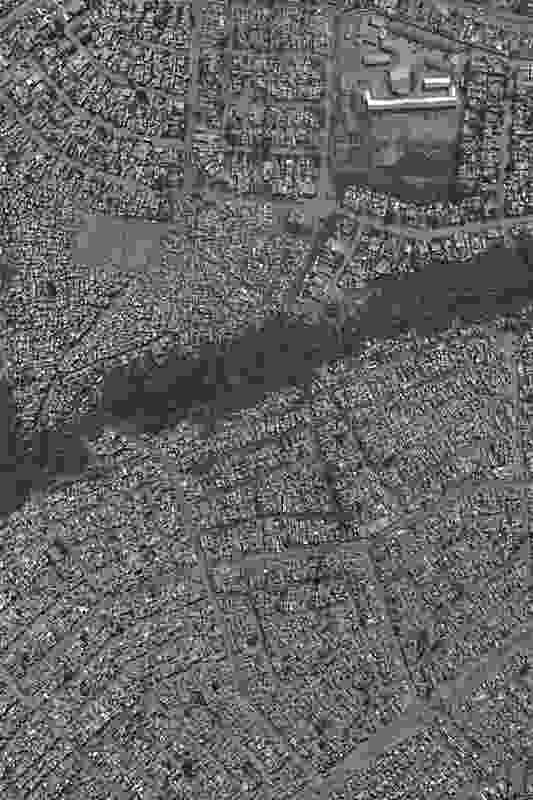 An aerial photograph of the Diepsloot focus area.