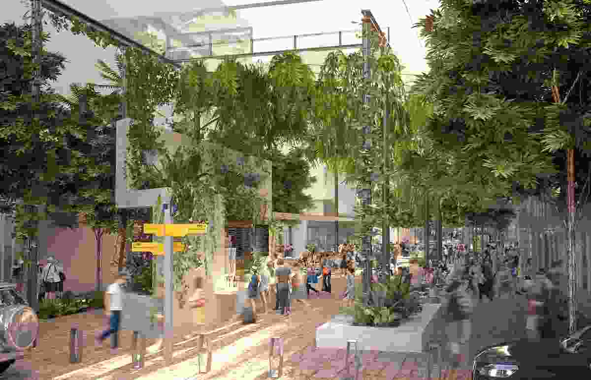 Albert Street Vision by Hassell and Urban Renewal Brisbane, Brisbane City Council.