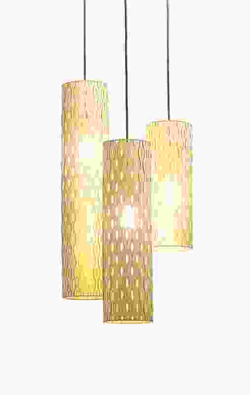 Metcalfe's hanging Punga Lights come in three different sizes and two finishes.