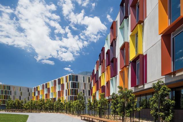 Monash University Turner Building Student Accommodation by Jackson Clements Burrows Architects.