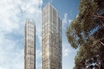 Woods Bagot designs sets of towers for Parramatta