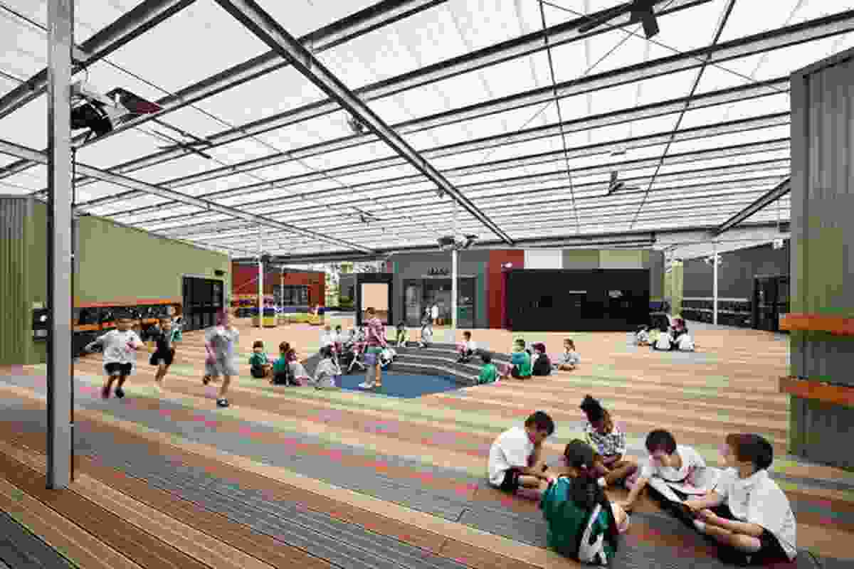 Good Samaritan Primary School - Nazareth (Year one and two) Learning Village by Harrison and White.