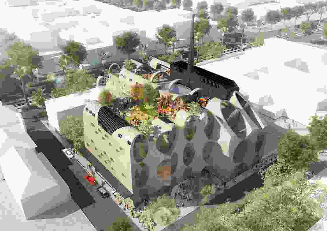 Victoria Pride Centre by Grant Amon Architects and Brearley Architects and Urbanists.