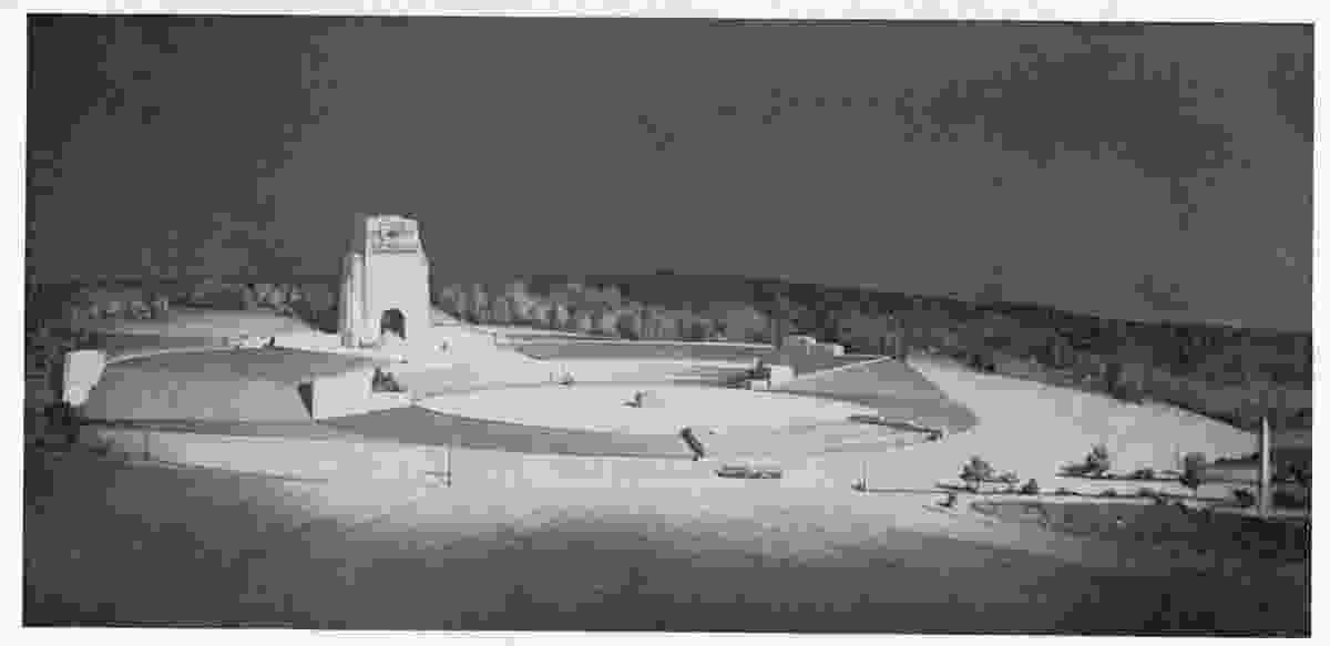 """The """"vast encircling spaciousness"""" of William Lucas's entry in the Melbourne War Memorial competition (1923)"""