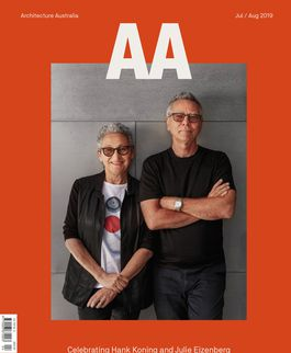 Architecture Australia, July 2019