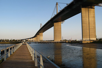 Melbourne's West Gate Bridge.