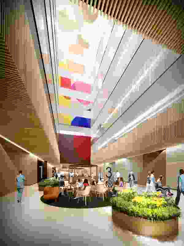 Northern Beaches Hospital by BVN.
