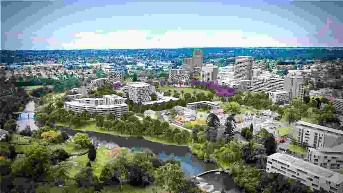 The planned redevelopment of the area around the Female Factory is part of the Parramatta North Urban Transformation Program.
