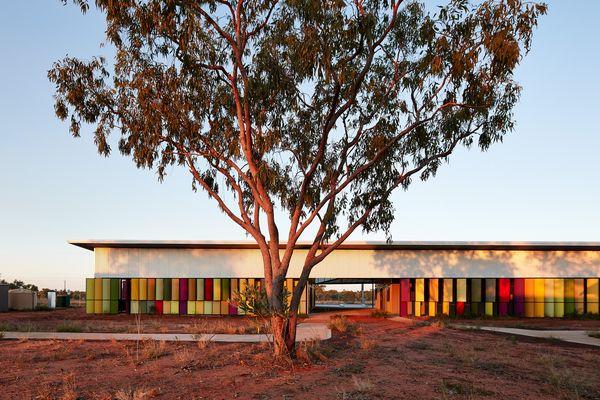 Fitzroy Crossing Renal Hostel by Iredale Pedersen Hook Architects.