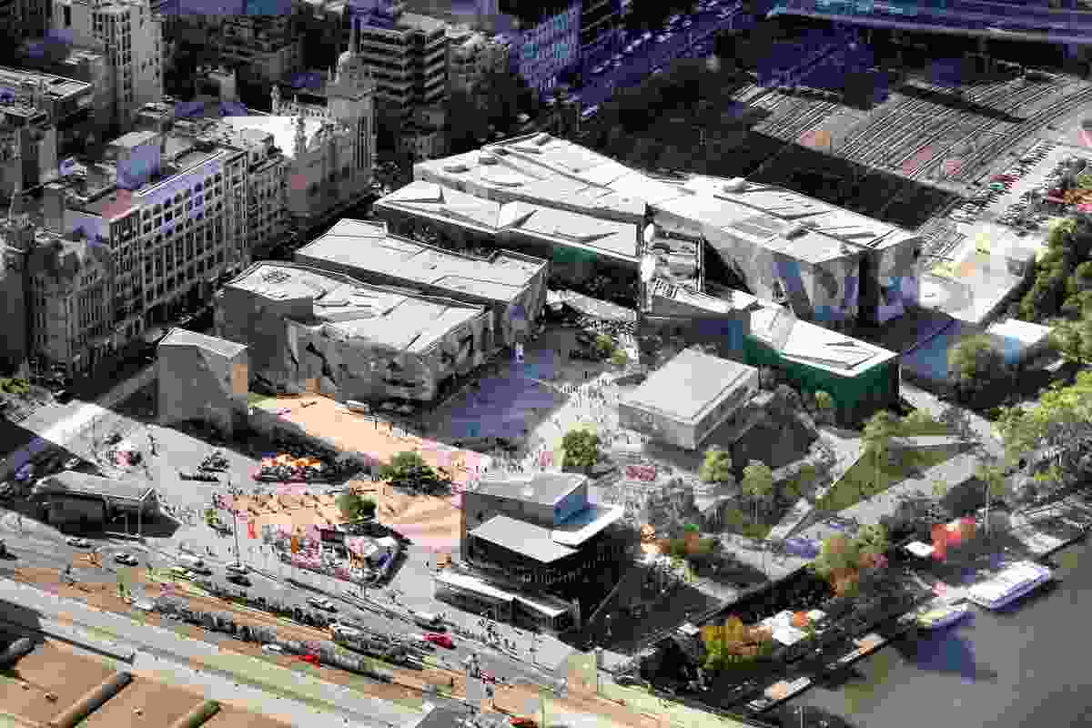 The proposal for an Apple flagship store in Melbourne's Federation Square was rejected by Heritage Victoria.