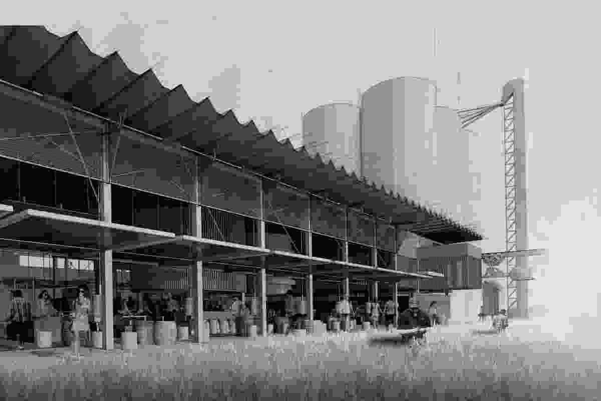 Community Grain, Doug McNamara (University of Newcastle).