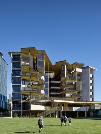 Fortitude Valley State Secondary College by Cox Architecture.