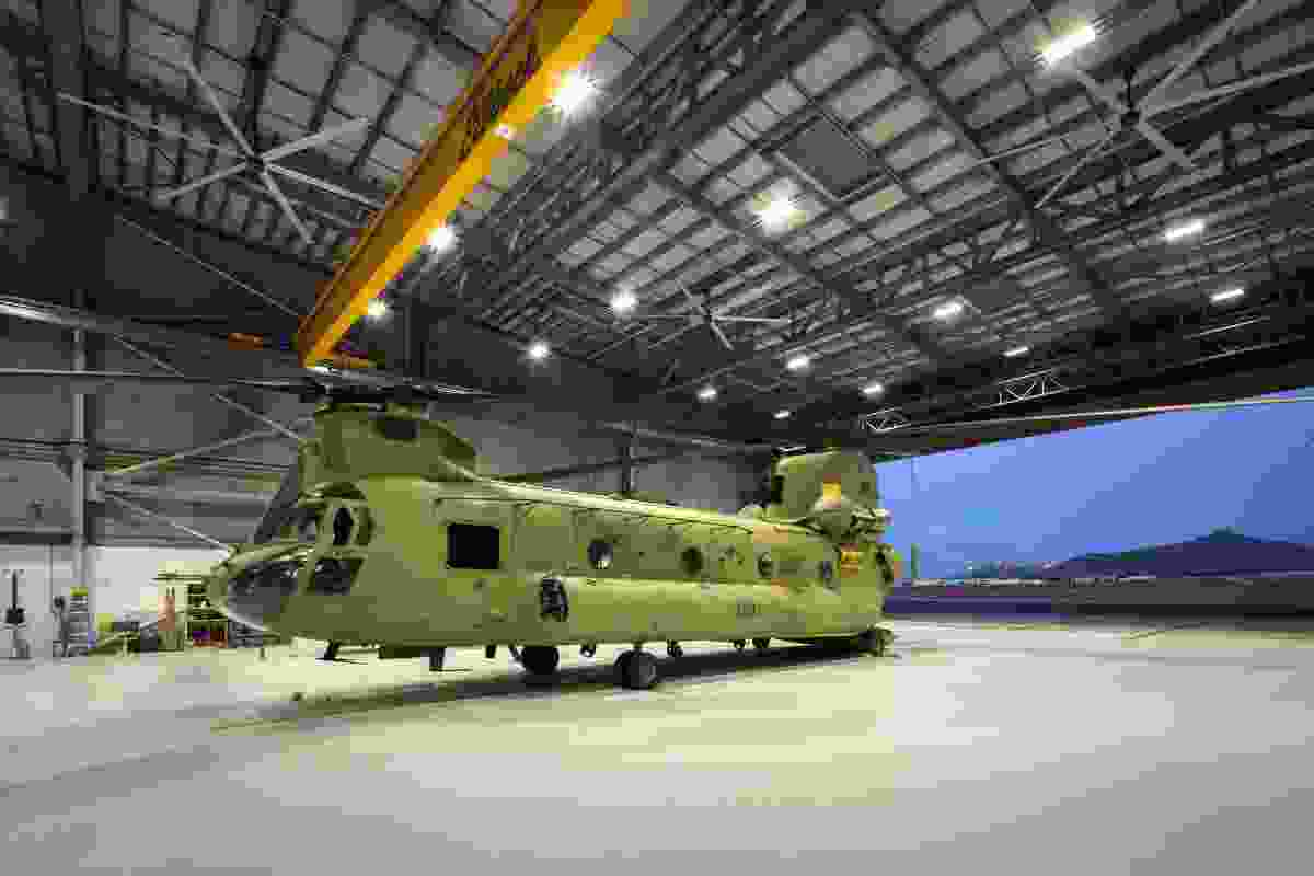 Commendation for Sustainable Architecture: Replacement Chinook Facilities by Jacobs.