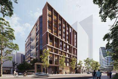 COX建筑的326-328植物路326-328号提案。